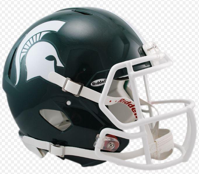 Michigan State Riddell Mini Speed Helmet