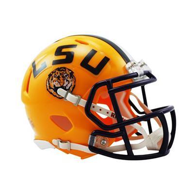 LSU Riddell Mini Speed Helmet