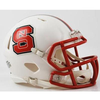 NC State Riddell Mini Speed Helmet