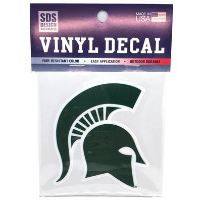 Michigan State Spartan Helmet Decal