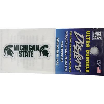 Michigan State Stacked Wordmark 2