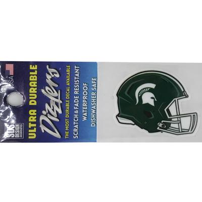 Michigan State Football Helmet 2