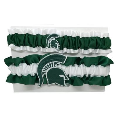 Michigan State Women's Classic Garter Set