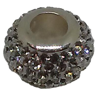 Clear Crystal Spacer Bead