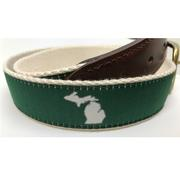 State Of Michigan State Traditions Game Day Belt