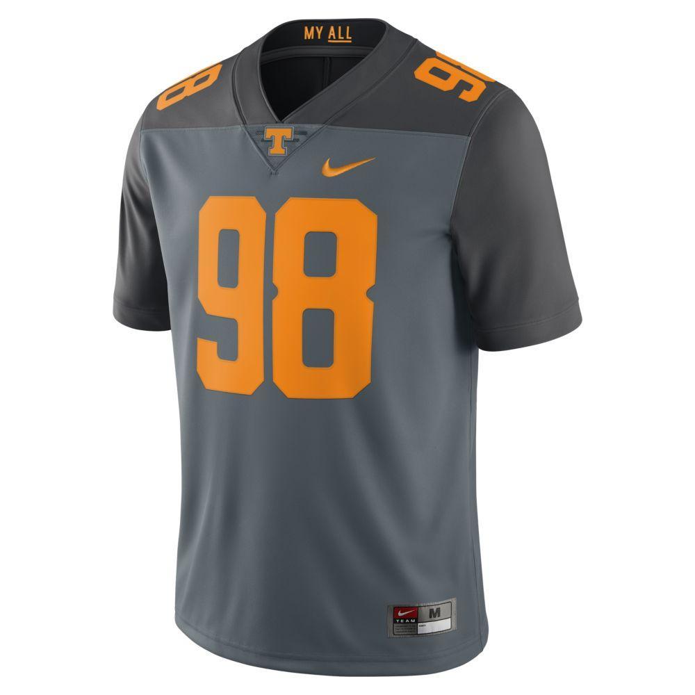 innovative design ff52c 818d1 Vols - Tennessee Nike Limited Football Jersey #98 - Alumni Hall