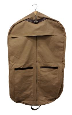 Virginia Tech Waxed Canvas Garment Bag