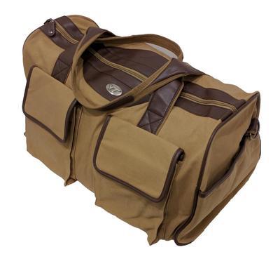 Virginia Tech Waxed Canvas Weekender Bag