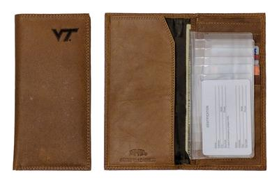Virginia Tech Embossed Roper Wallet