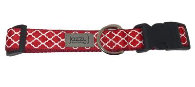 Red and White Jazzy Designs Collar