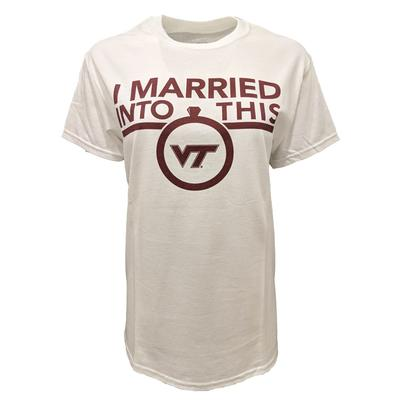Virginia Tech Married Into This T-Shirt