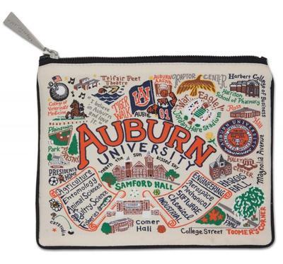 Auburn Woven Pouch