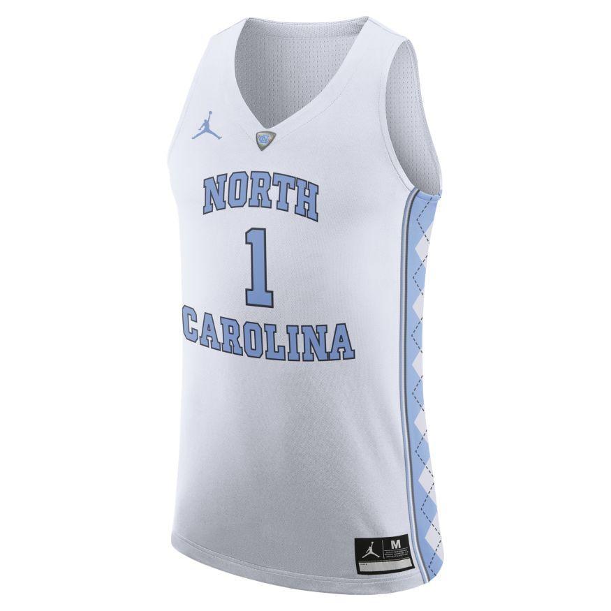 san francisco 84bf5 d9a56 UNC- UNC Nike Authentic Jersey #1- Alumni Hall