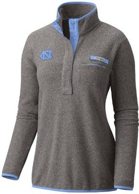 UNC Columbia Women's Harborside Fleece Pullover