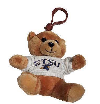 ETSU Plush Bear Keychain 4