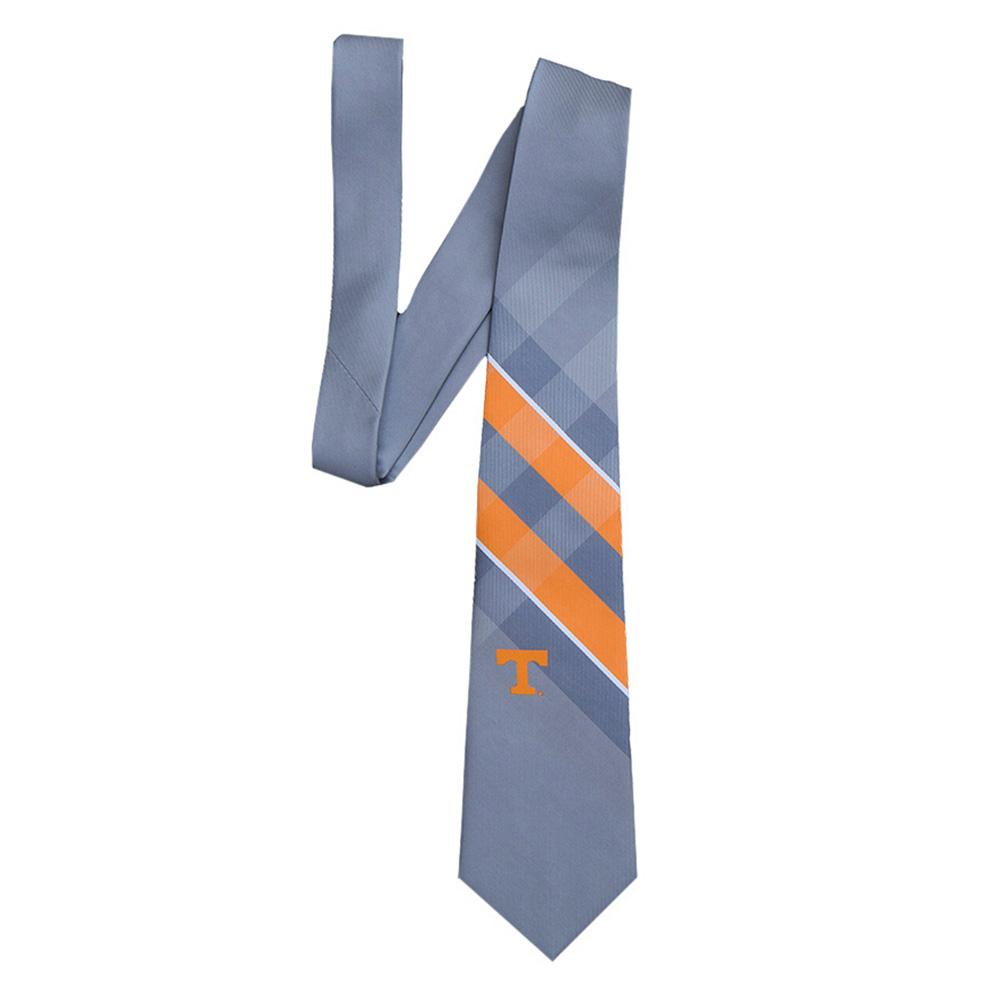 Tennessee Woven Polyester Grid Tie