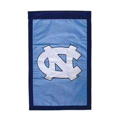 UNC Applique House Flag
