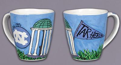 UNC Magnolia Lane Artwork Mug