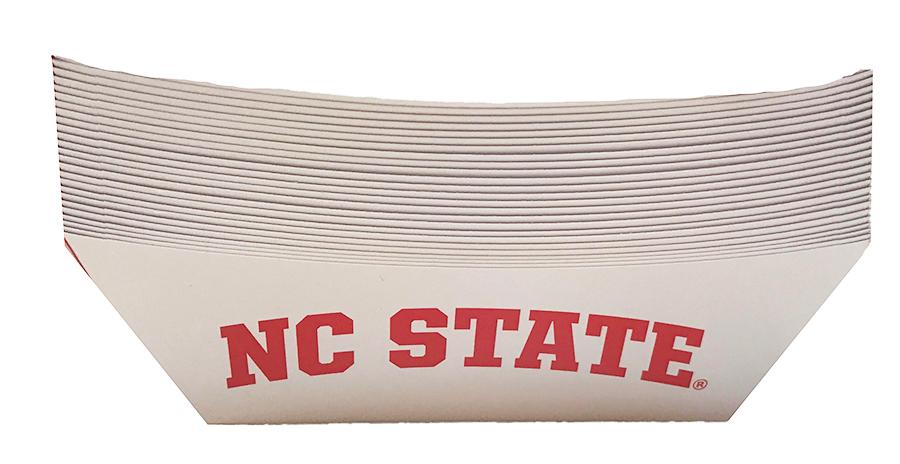 Nc State Food Tray (25 Pack)