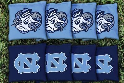 UNC 16oz Corn filled Cornhole Bags (8)