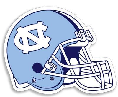 UNC Football Helmet 3