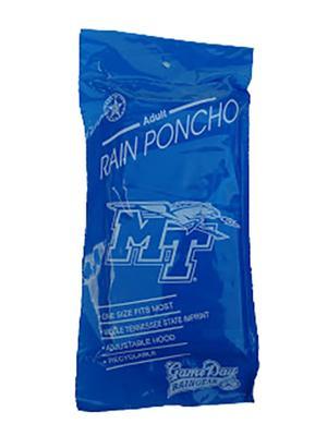 MTSU Rain Poncho