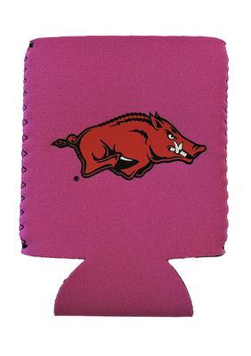 Arkansas Razorback Logo Can Coozie