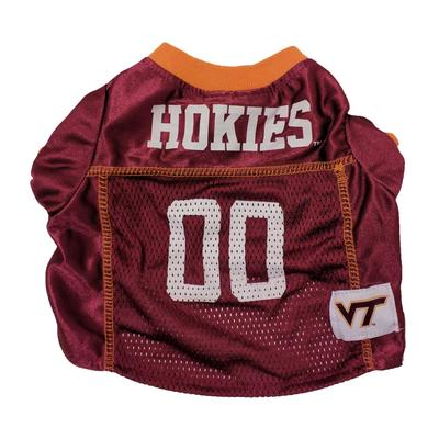 Virginia Tech Pet Mesh Football Jersey