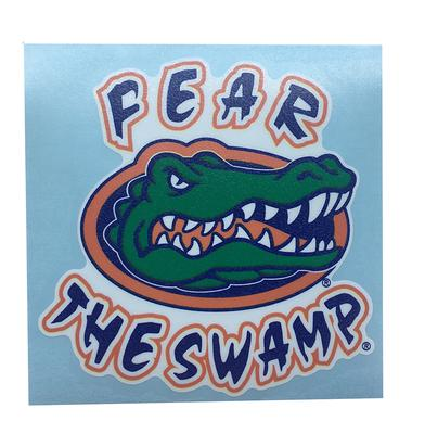 Florida Fear the Swamp Decal