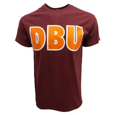 Maroon & Orange DBU T-Shirt