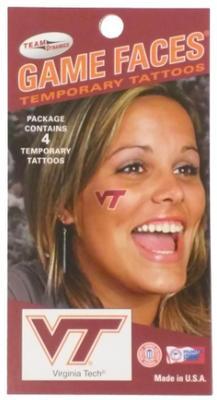 Virginia Tech Logo Face Decals