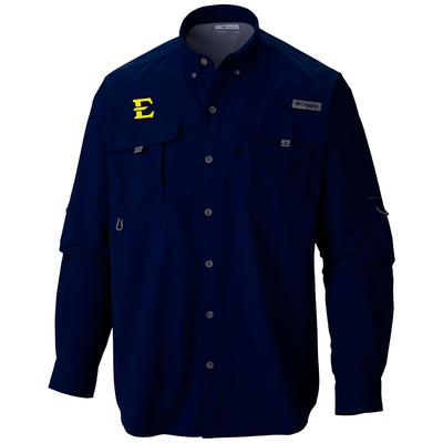ETSU Columbia Bahama Long Sleeve Shirt