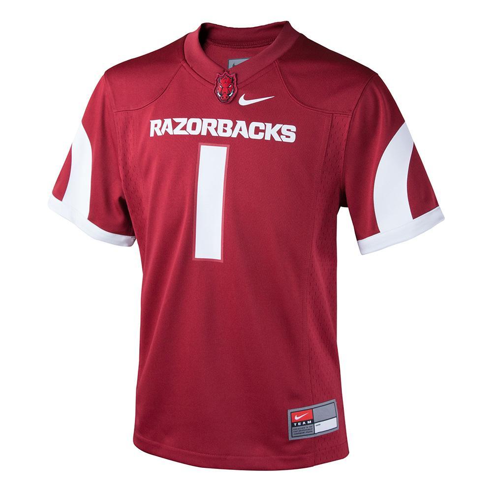 Arkansas Nike Boys Replica Jersey # 1