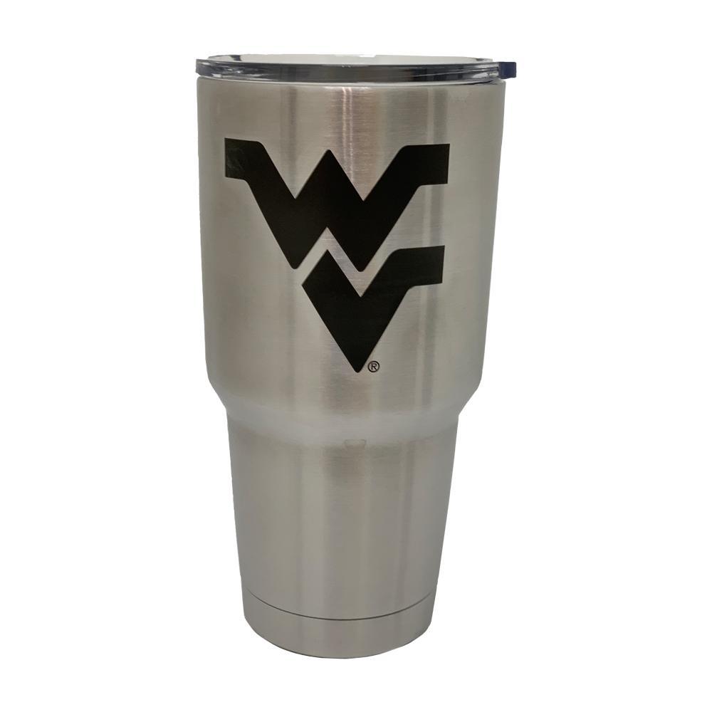 West Virginia Yeti 30oz Wv Logo Rambler With Lid