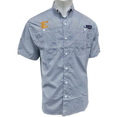 ETSU Columbia Super Tamiami Short Sleeve Shirt
