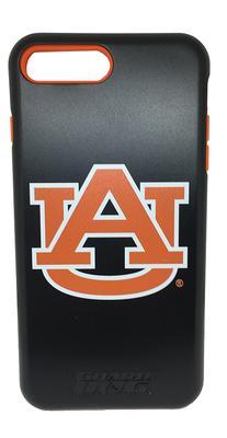 Auburn Apple Iphone 7 plus Logo Hybrid Case