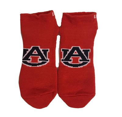 Auburn Under Armour No Show Socks