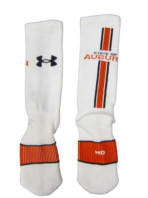 Auburn Under Armour Crew Socks