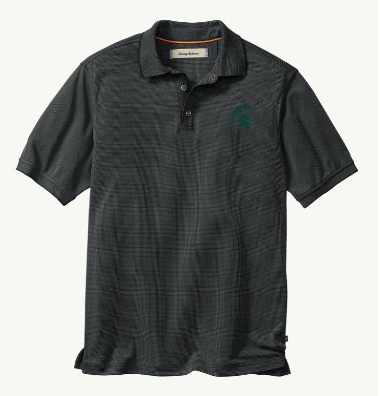 Michigan State Tommy Bahama All Square Core Polo