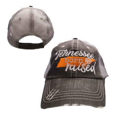 Tennessee Women's Born & Raised Trucker Hat