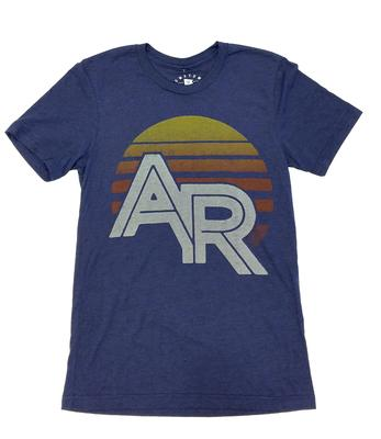 Arkansas Sunrise Triblend Tee