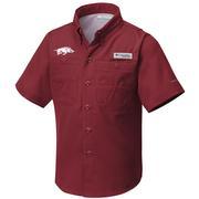 Arkansas Columbia Youth Tamiami Shirt