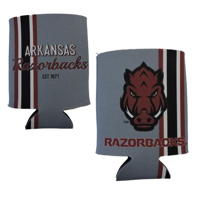Arkansas Throwback Can Coozie