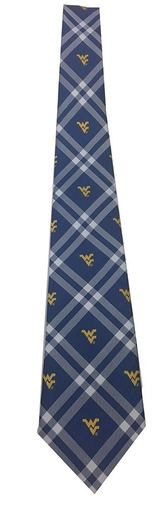West Virginia Rhodes Self Tie Bow Tie