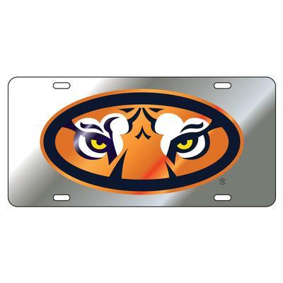 Auburn Tiger Eyes License Plate
