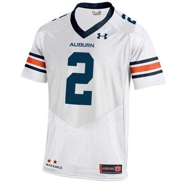 Auburn Under Armour Premier Football Jersey # 2