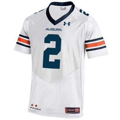 Auburn Under Armour Premier Football Jersey #2