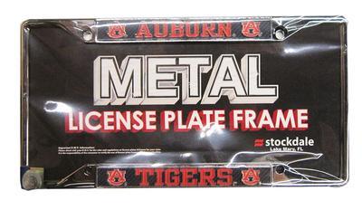 Auburn Carbon Fiber License Plate Frame