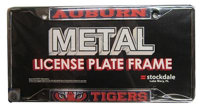 Auburn Mega Logo License Plate Frame