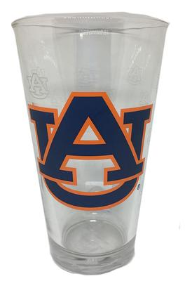 Auburn 16oz Satin Etch Pint Glass